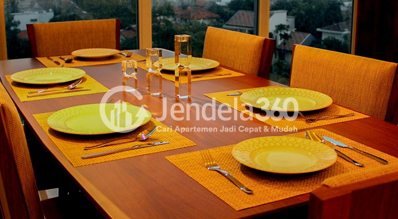 Dining Room Kemang Village Apartment